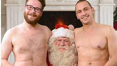 James Franco & Seth Rogen: Nackte Grüße zu Weihnachten - Foto: James Franco / Instagram