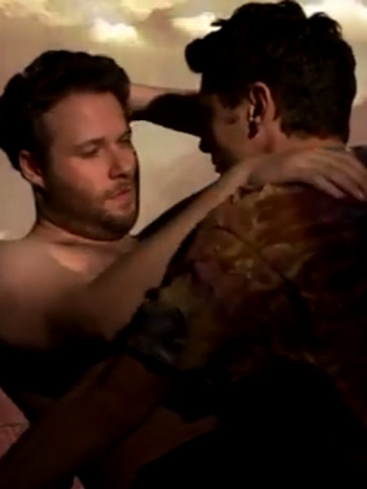 James Franco und Seth Rogen verarschen Kimye mit Video!