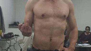 Ein bisschen erinnert er an Hugh Jackman als Wolverine, nur etwas schmaler - Foto: Instagram / James Franco