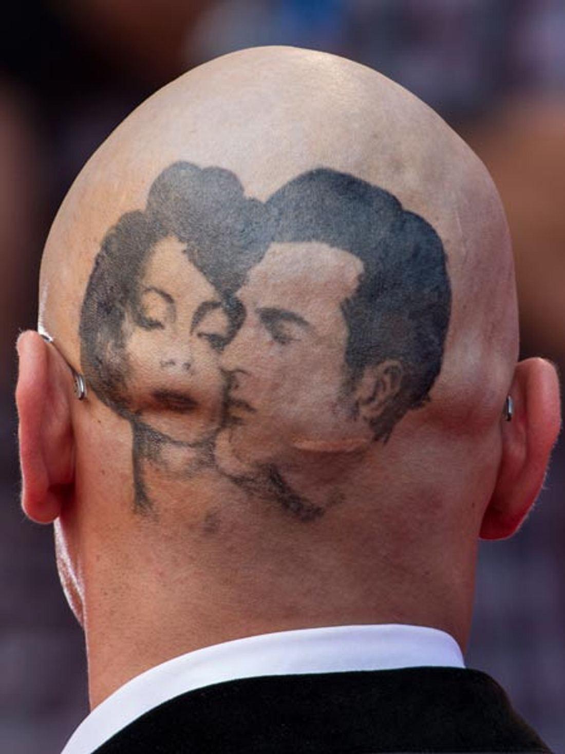James Franco schockt mit Riesen-Tattoo