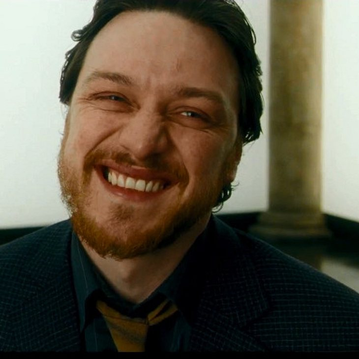 "James McAvoy als ""Drecksau"""