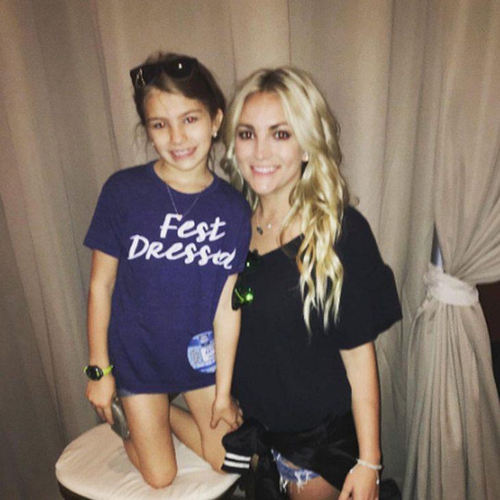 Jamie Lynn Spears und ihre 8-jährige Tochter Maddie