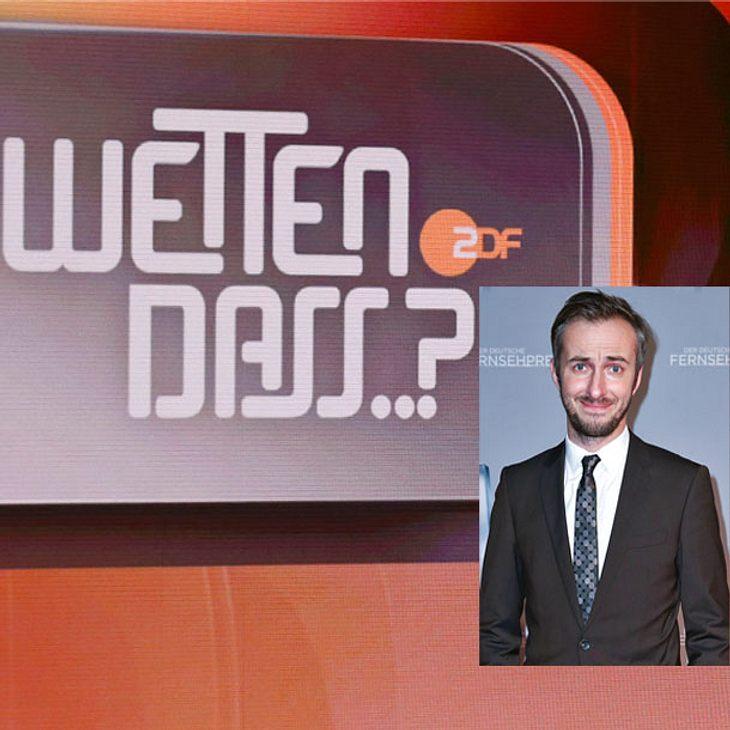 """Wetten dass...?""-Comeback Dank Jan Böhmermann?"