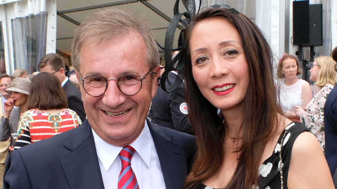 Jan Hofer und Ehefrau