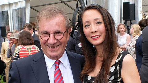 Jan Hofer und Ehefrau - Foto: Getty Images