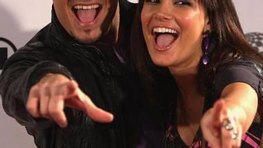 """Stars und ihre Reality-ShowsAuch gemeinsam mit ihrem Ehemann Giovanni Zarrella (34) ist Jana Ina in einer Doku-Soap zu sehen gewesen. """"Jana Ina & Giovanni - Wir sind schwanger"""" hieß die Sendung, in der sich das Paar 2008 währe - Foto: GettyImages"""