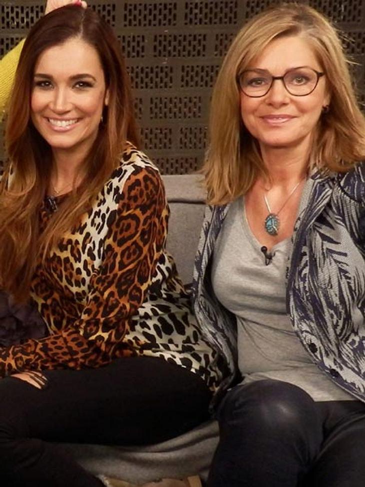 Jana Ina Zarrella und Maren Gilzer konkurrierten um den ersten Platz