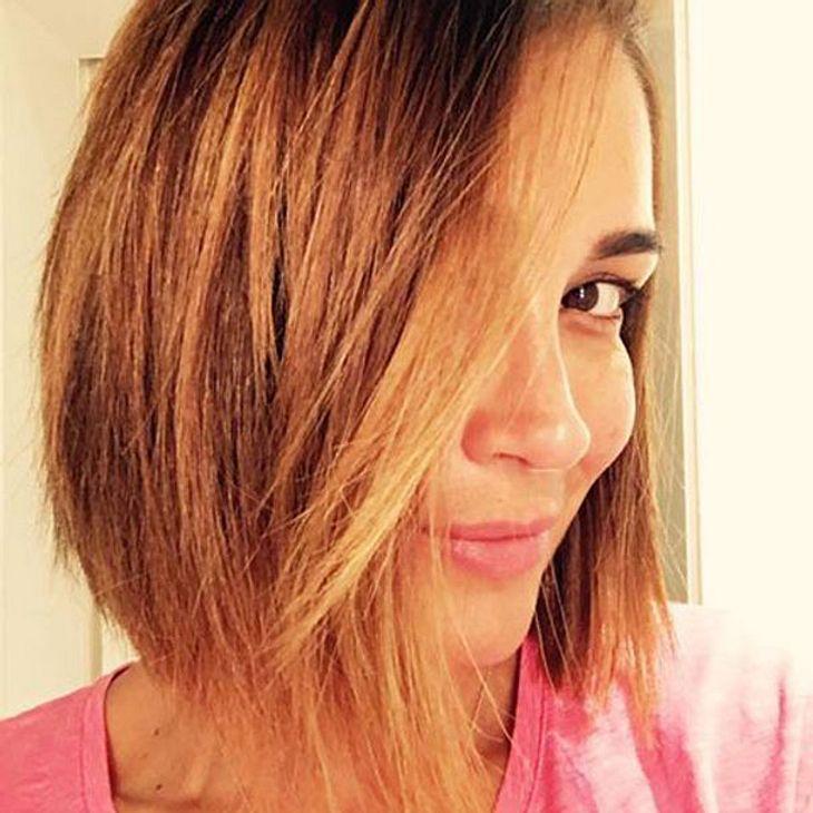 Jana Ina Zarrella Zeigt Ihren Neuen Look Intouch