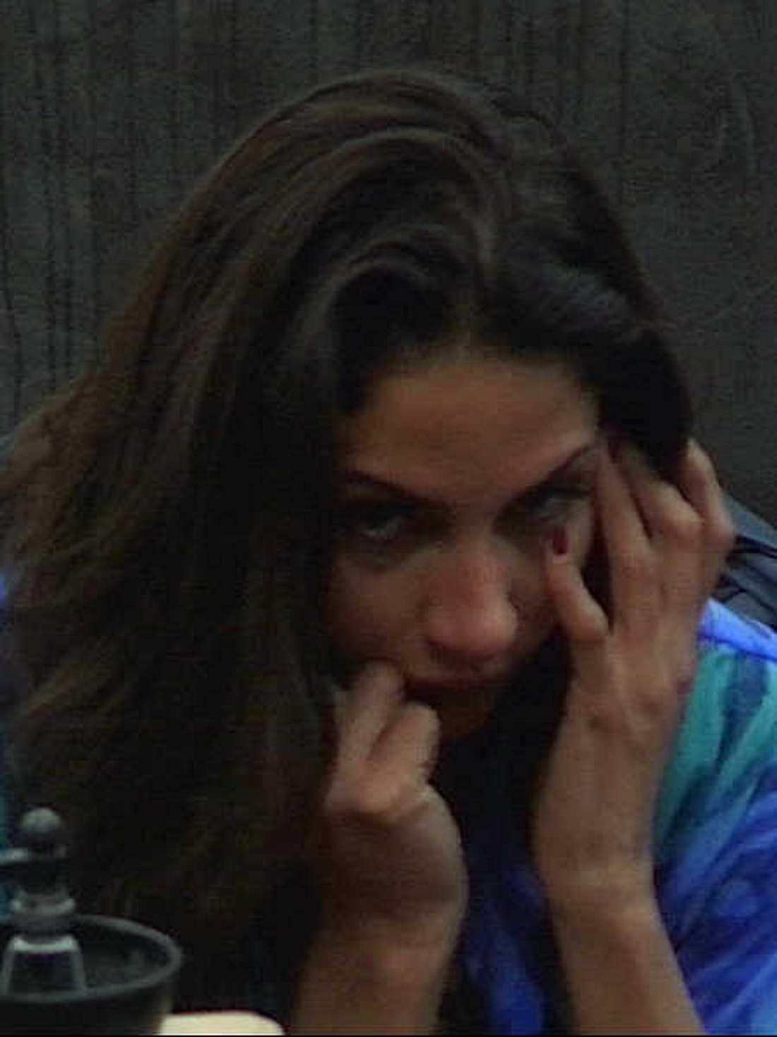 Janina Youssefian hat Angst um ihren Busen.