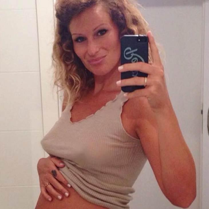 Janni Hönscheid: Sie zeigt ihre 7-Monats-Kugel