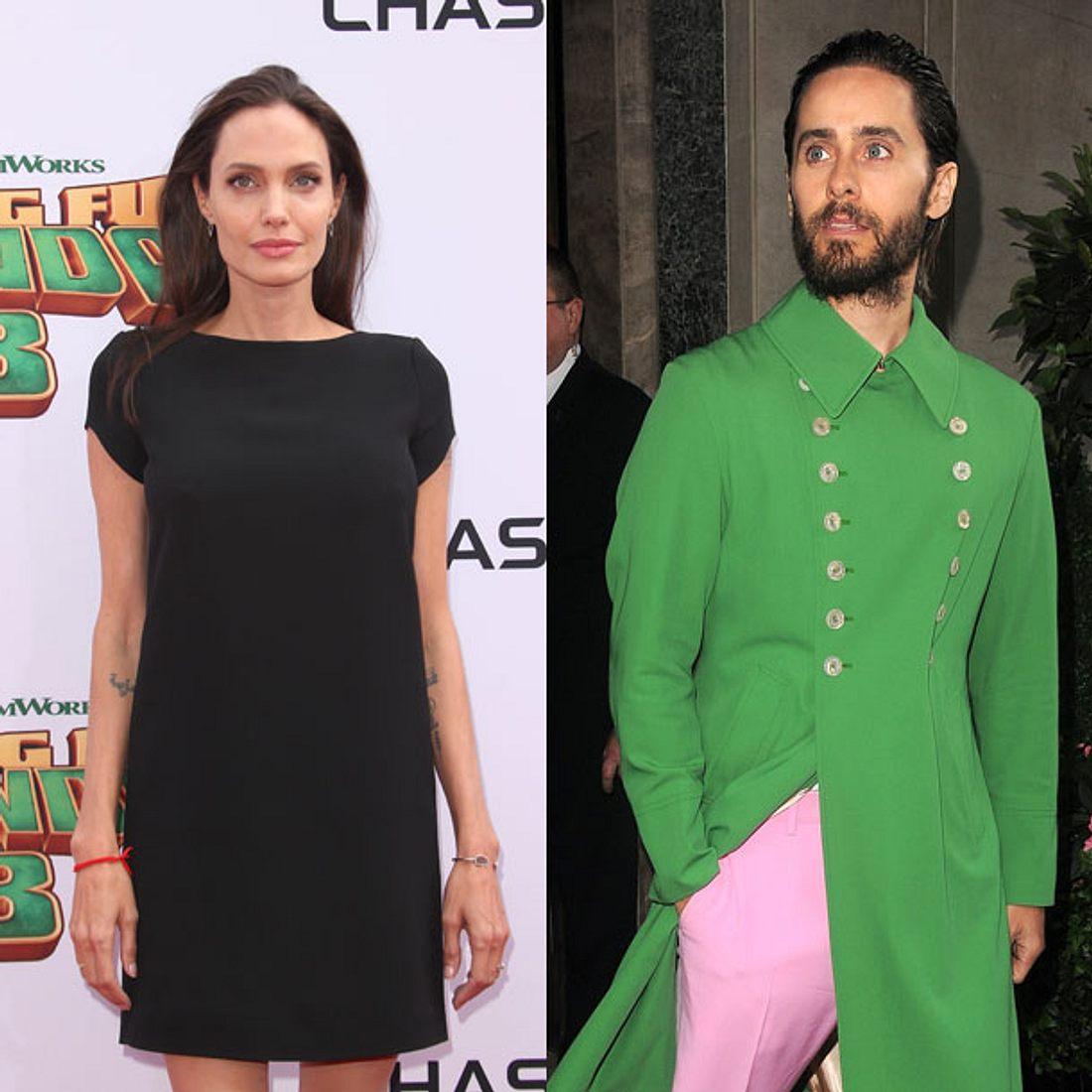 Angelina Jolie: Romanze mit Jared Leto?