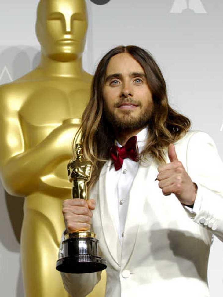 Jared Leto hat seinen Oscar kaputt geschlagen!