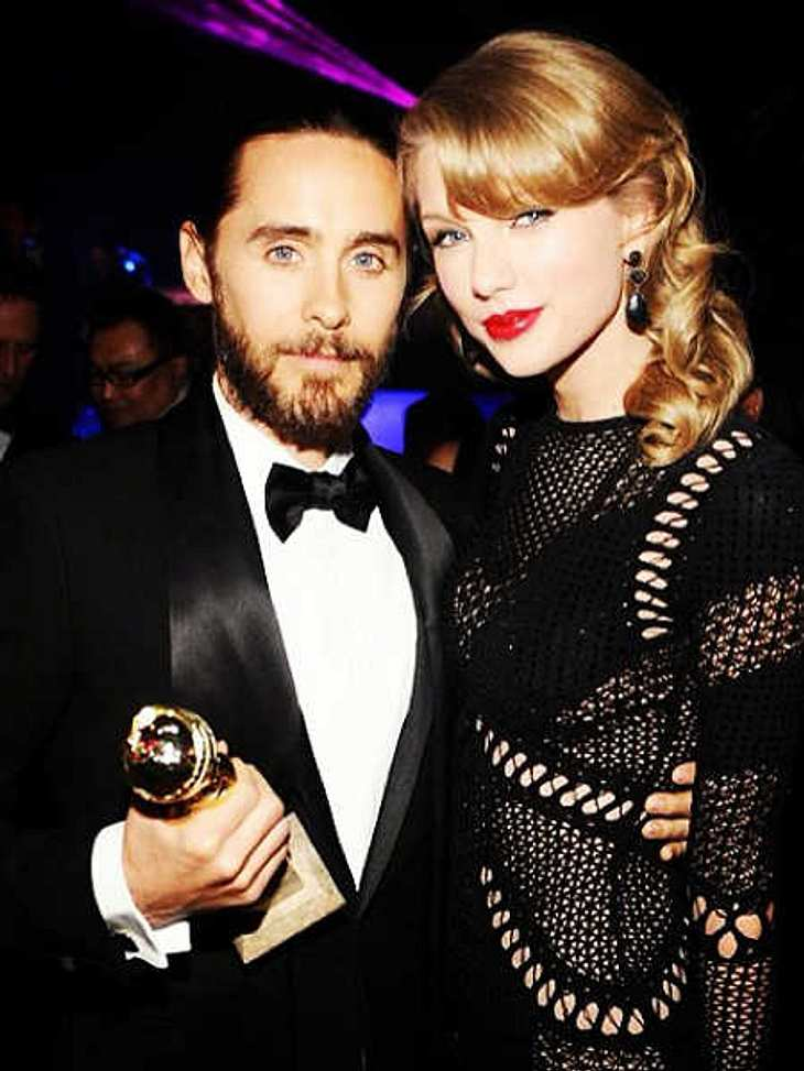 Jared Leto und Taylor Swift: Unzertrennlich bei den Golden Globes.