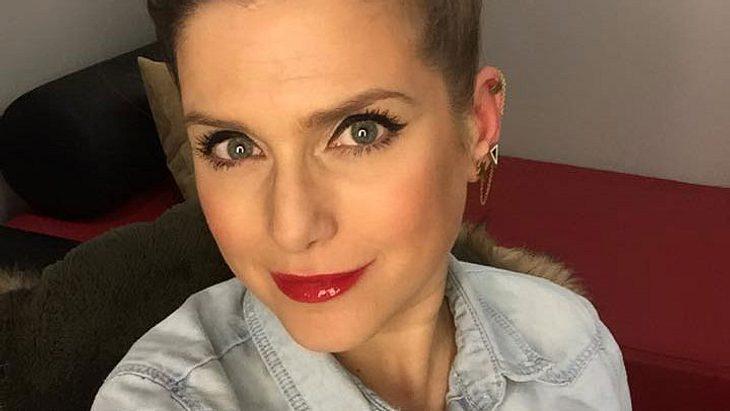 Jeanette Biedermann: Peinlicher NIPPEL-Blitzer!