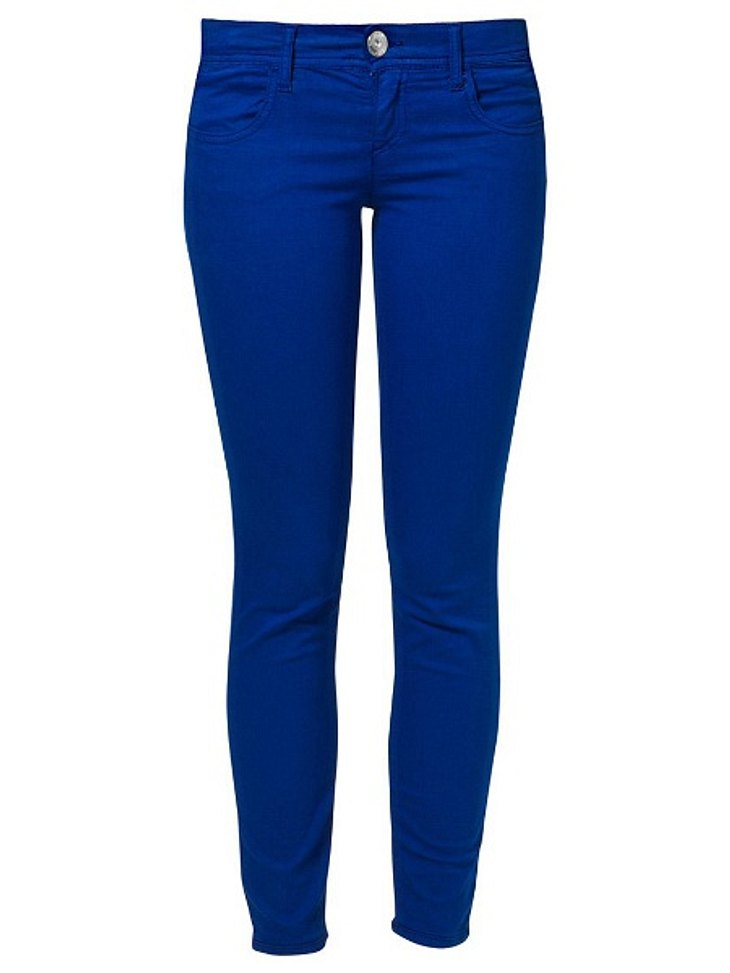 Klau den Look von Blake LivelyColour-Jeans von Benetton, um 39,95 Euro