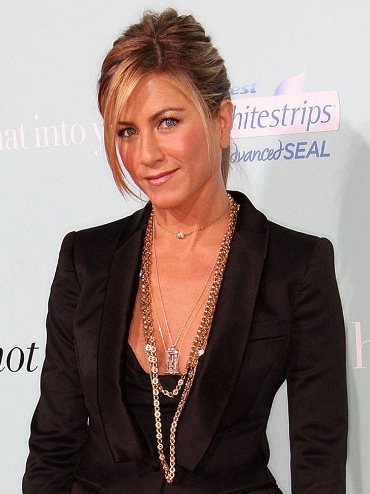 """Jennifer Aniston ist die """"Heißeste Frau aller Zeiten"""" - laut """"Menshealth.com""""."""