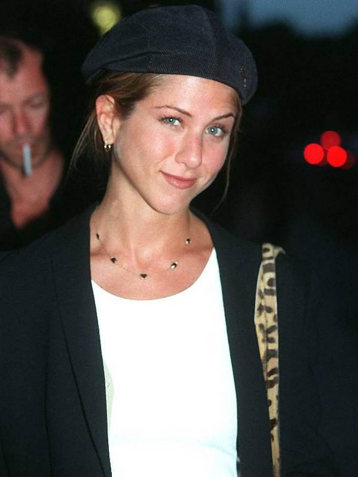 Mädchenhaft und cool - das war  Jennifer Aniston mit 29 Jahren.