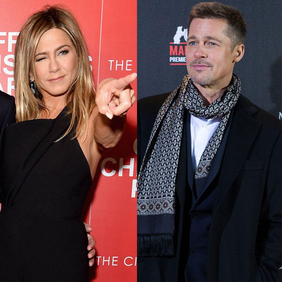 Jennifer Aniston lässt Brad Pitt abblitzen!