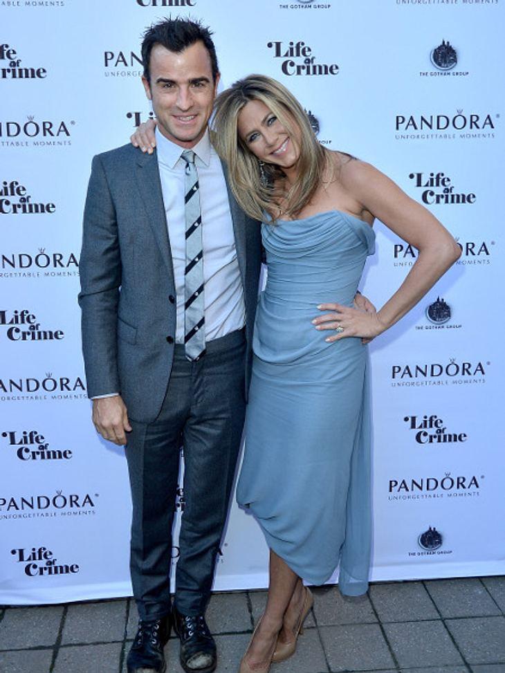 Jennifer Aniston ist happy mit Justin