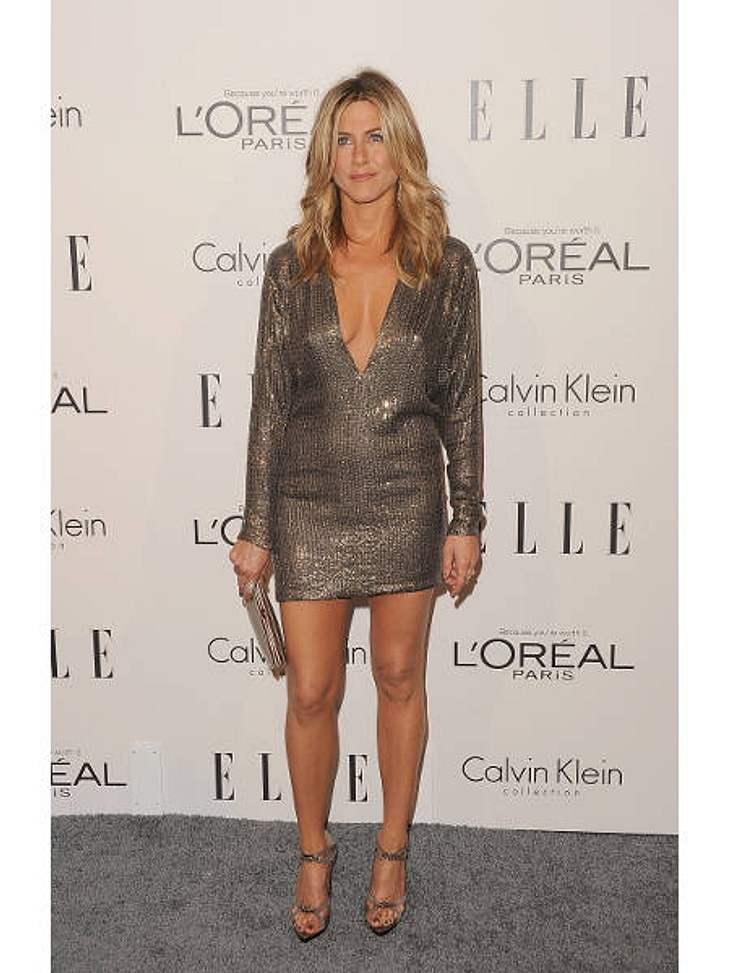 Jennifer Aniston: Das beste Jahr ihres LebensSeit der Trennung von Brad Pitt (48) haftete Jennifer Aniston die Rolle der verlassenen Ehefrau an. Trotz Affären mit Vince Vaughn (42), John Mayer (34) und Gerard Butler (42) hatte sie einfach k