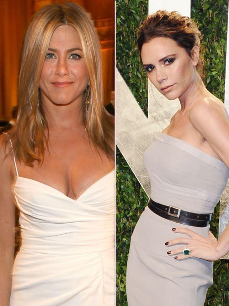 Victoria Beckham soll angeblich Jennifer Anistons Brautkleid entwerfen