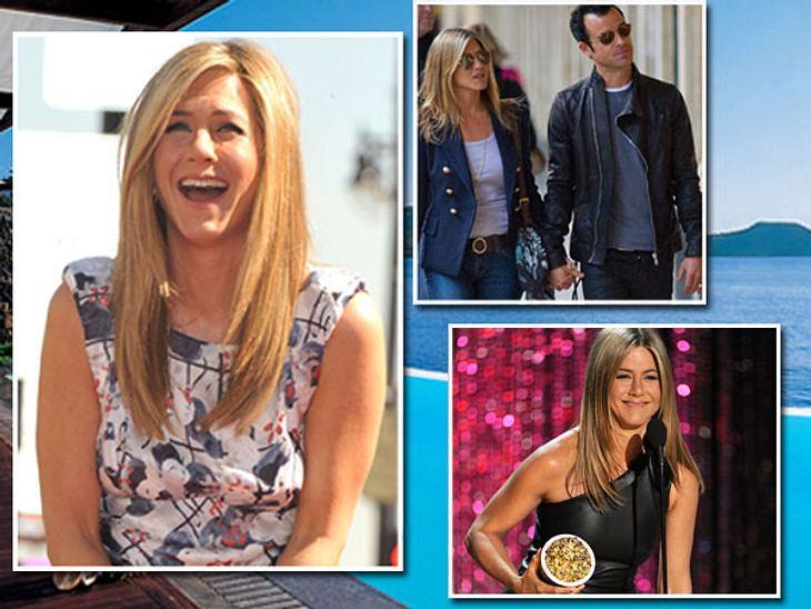Jennifer Aniston: Das beste Jahr ihres LebensEs war DIE Meldung der letzten Woche: Jennifer Aniston (43) und Justin Theroux (41) haben sich verlobt.Aber ganz ehrlich: Der Heiratsantrag ihres Boyfriends war für Jennifer nur die Sahnehaube ei