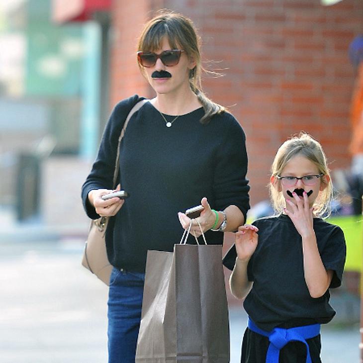 Jennifer Garner und ihre Tochter mit Verkleidung.
