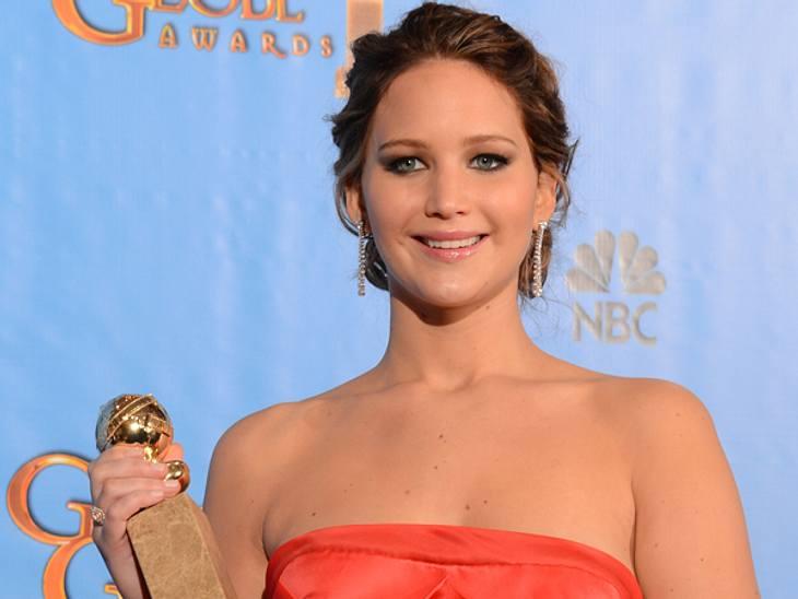 """Jennifer Lawrence & """"Lincoln"""" zählen zu den Gewinnern des Abends."""