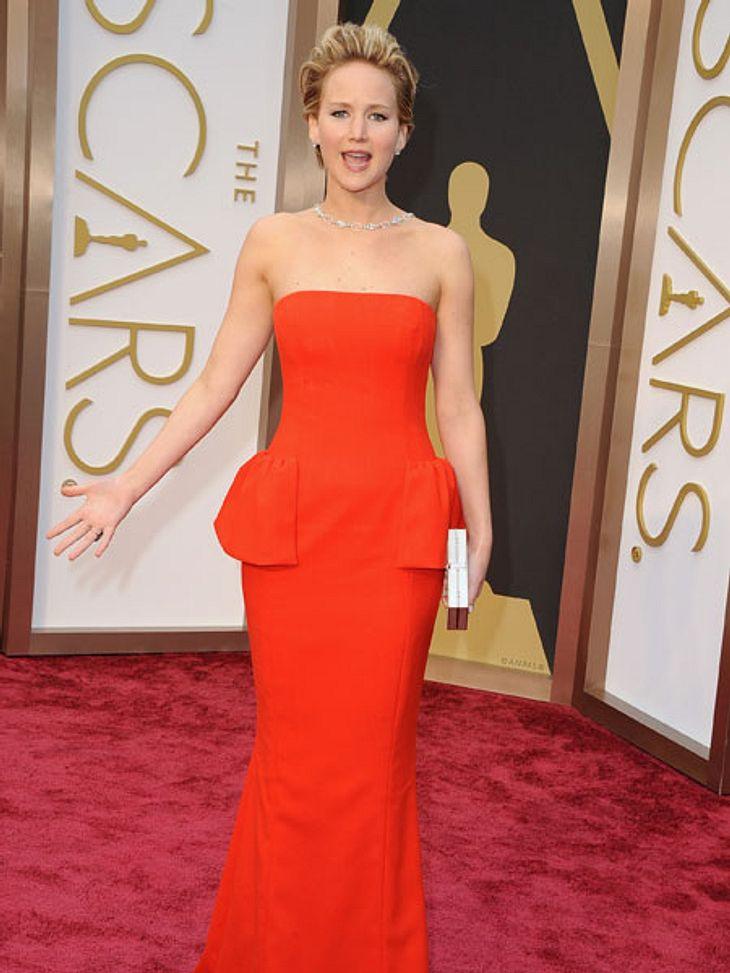 Hat Jennifer Lawrence ihren Sturz nur gespielt?