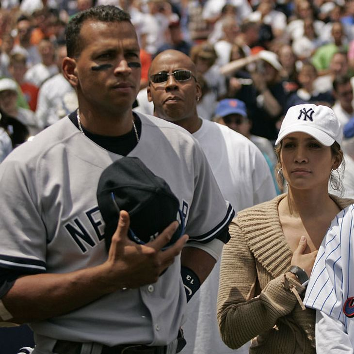 Jennifer Lopez datet Baseball-Star Alex Rodríguez