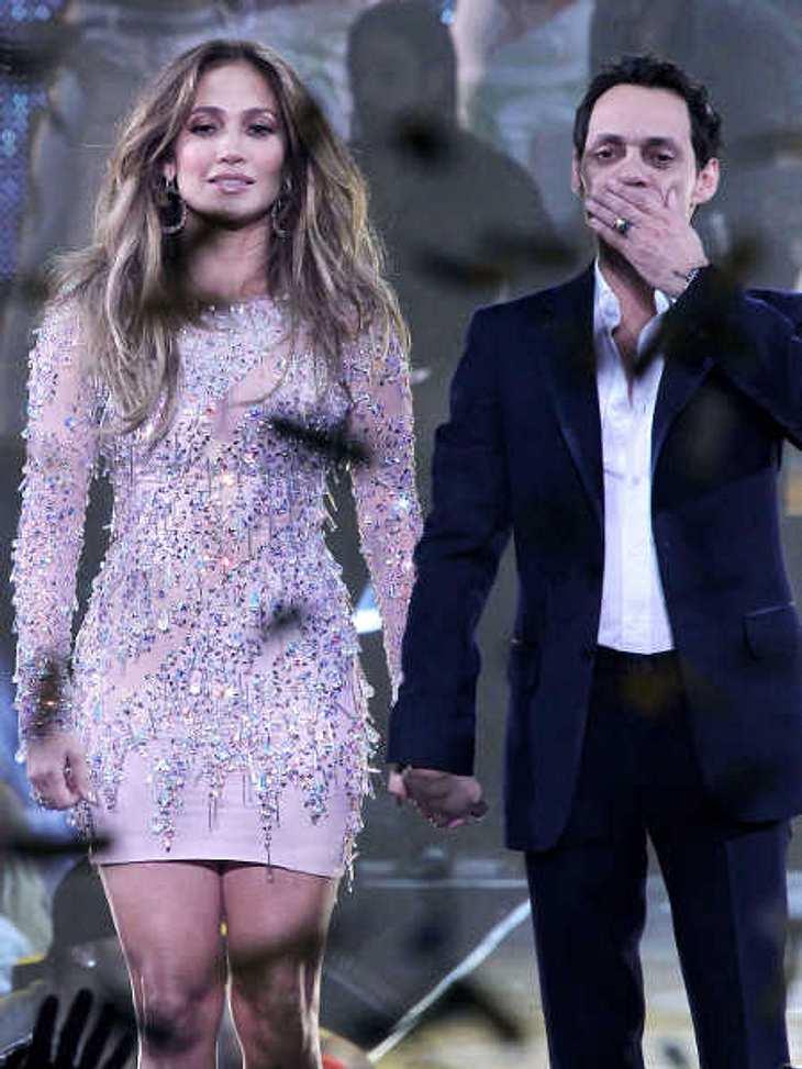 Jennifer Lopez hat nach der Scheidung von Marc Anthony das Sorgerecht für die Kinder.