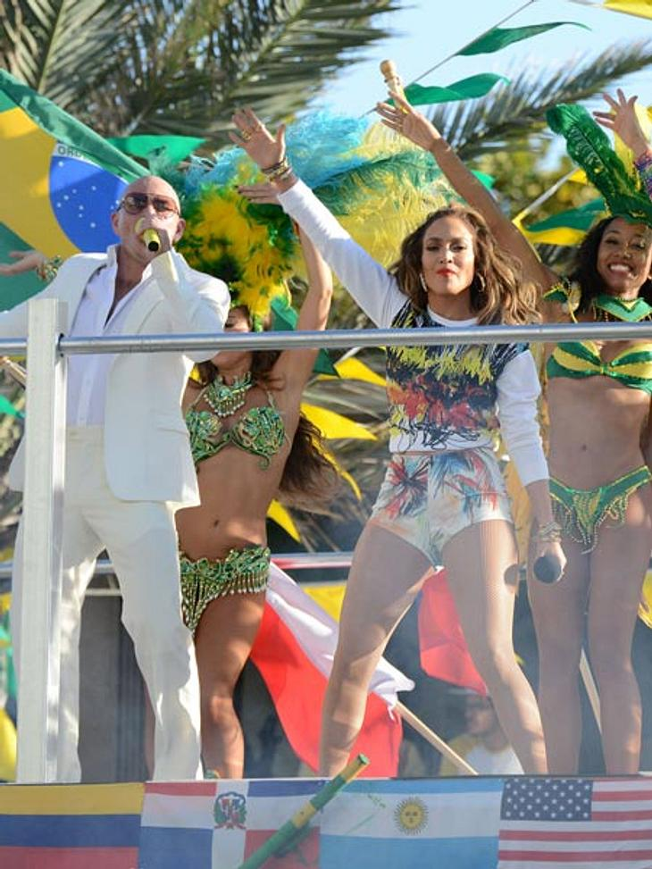 J.Lo und Pitbull singen den offiziellen WM-Song