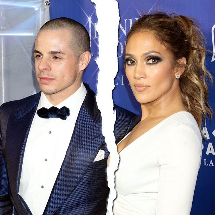 Jennifer Lopez ist wieder Single