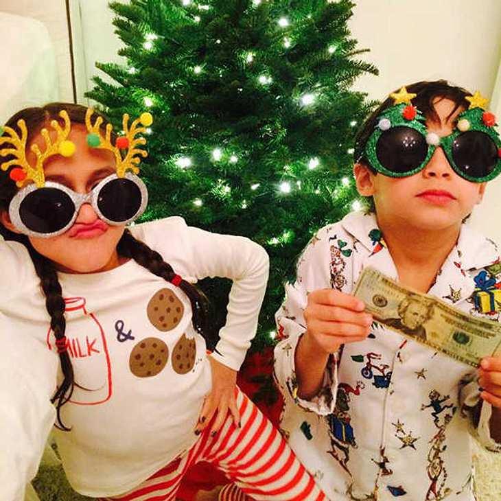 Jennifer Lopez hat die coolsten Weihnachtskinder auf Instagram!