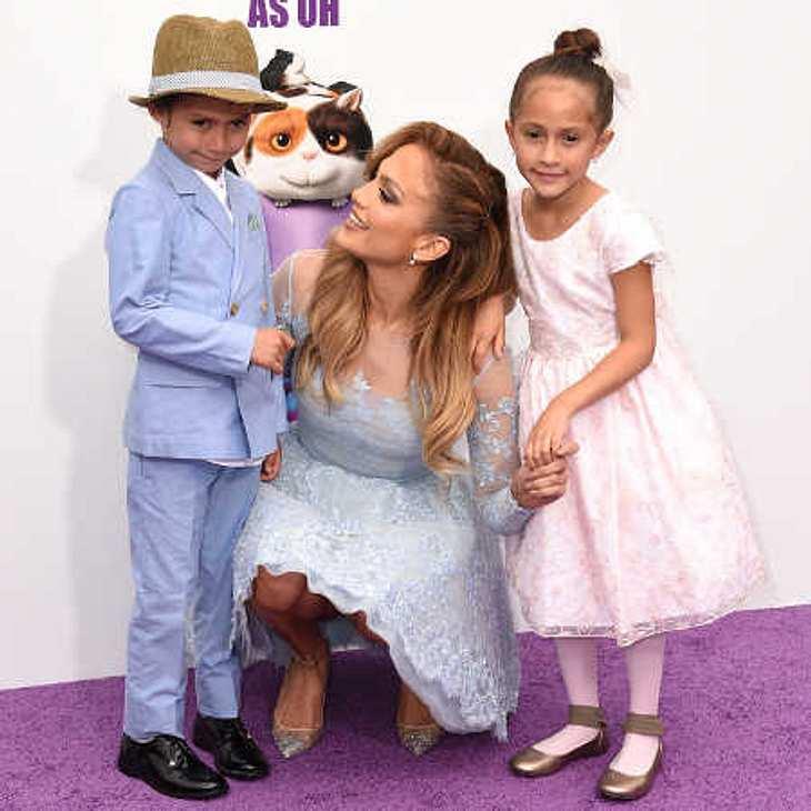 Jennifer Lopez: Mit ihren süßen Zwillingen auf dem roten Teppich!
