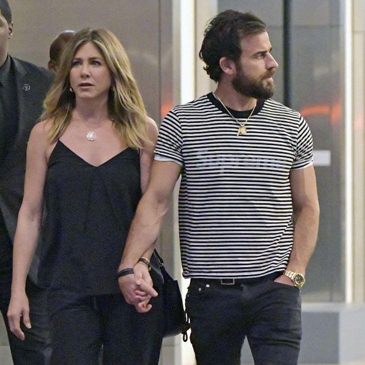 Jennifer Aniston und Justin Theroux sind seit einem Jahr verheiratet