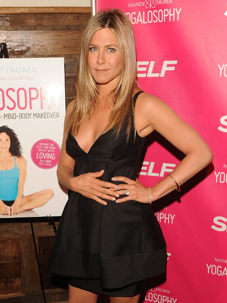 Jennifer Aniston: Zeigt sie hier ihren Babybauch?