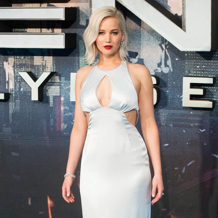 Jennifer Lawrence ist mal wieder auf dem roten Teppich gestolpert