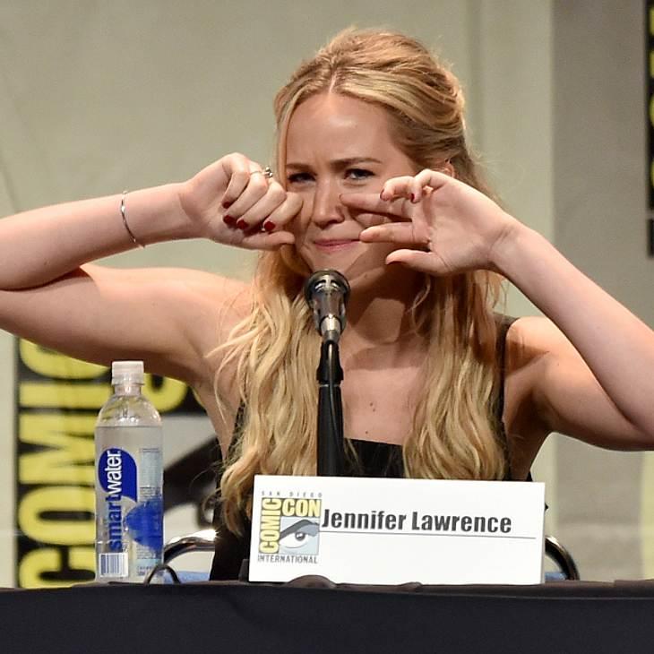 Jennifer Lawrence war todtraurig am letzten Drehtag