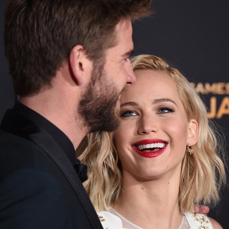 Liam Hemsworth bringt Jennifer Lawrence oft zum Lachen