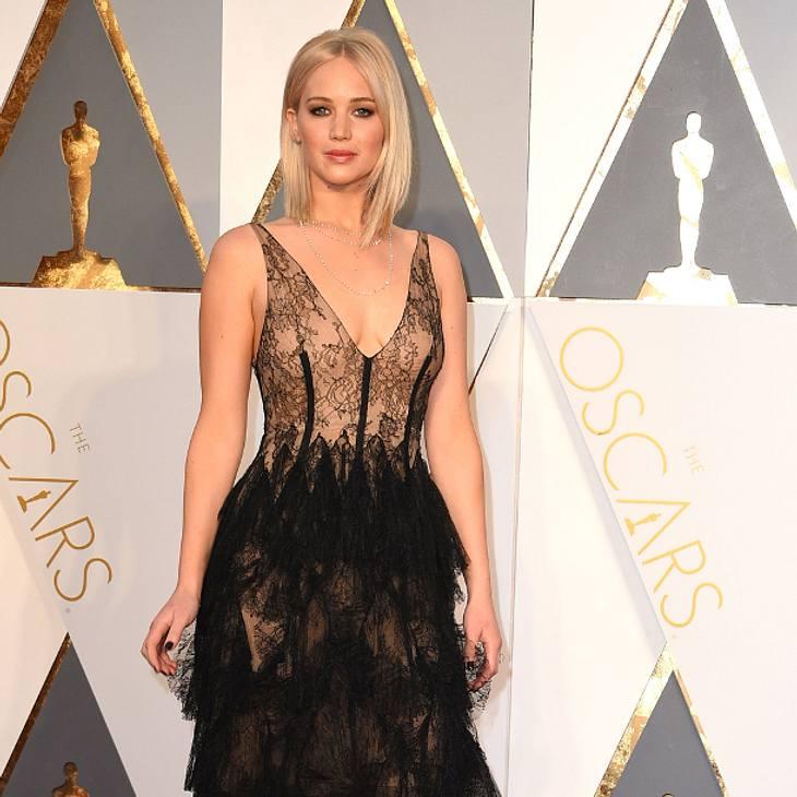 Jennifer Lawrence ließ bei den Oscars auf sich warten