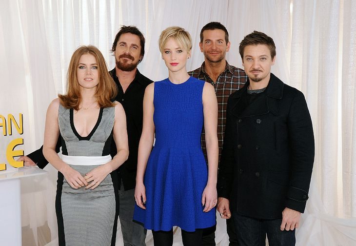 "Jennifer Lawrence und der Rest vom ""American Hustle""-Cast"