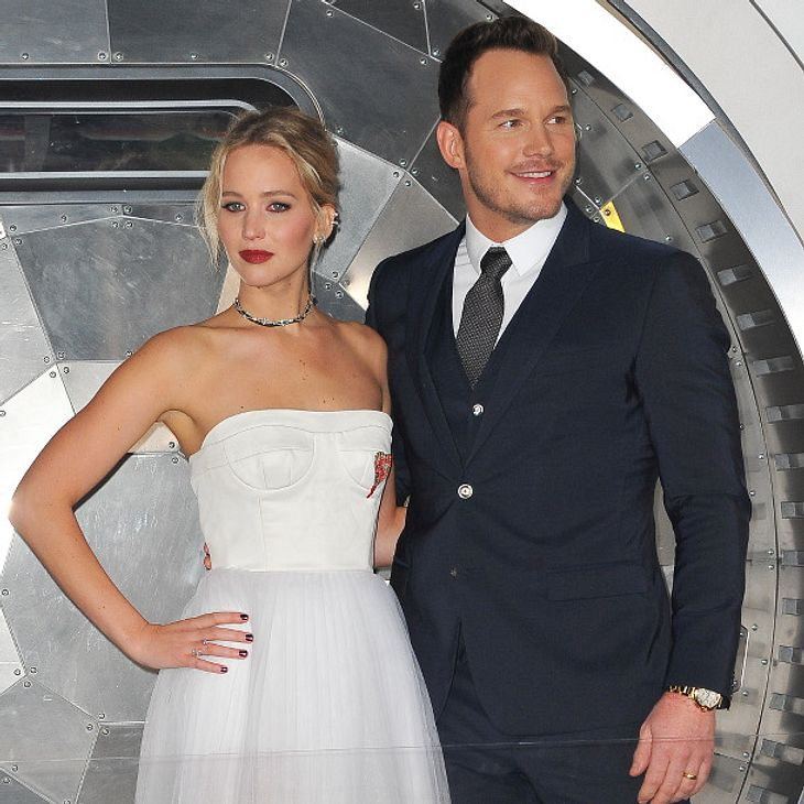 Mit Chris Pratt hatte Jennifer Lawrence ihre erste Sexszene