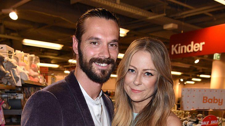 Jenny Elvers und Freund Simon Lorinser