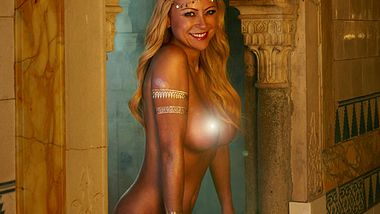 Jenny Elvers nackt Playboy - Foto: Irene Schaur für Playboy Februar 2016