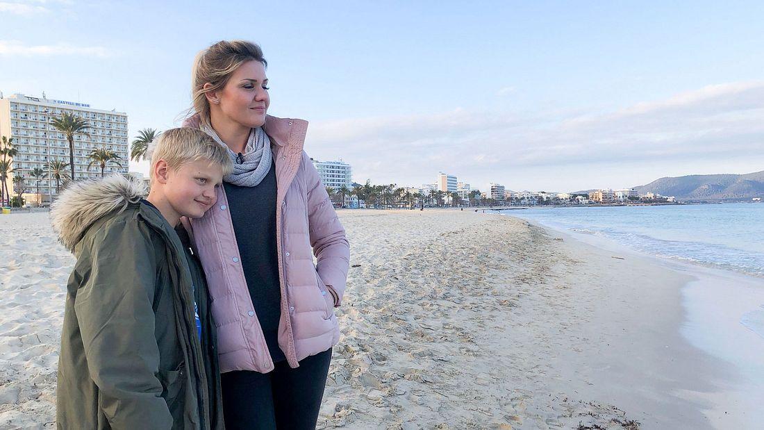 Jenny Matthias und Sohn Leon