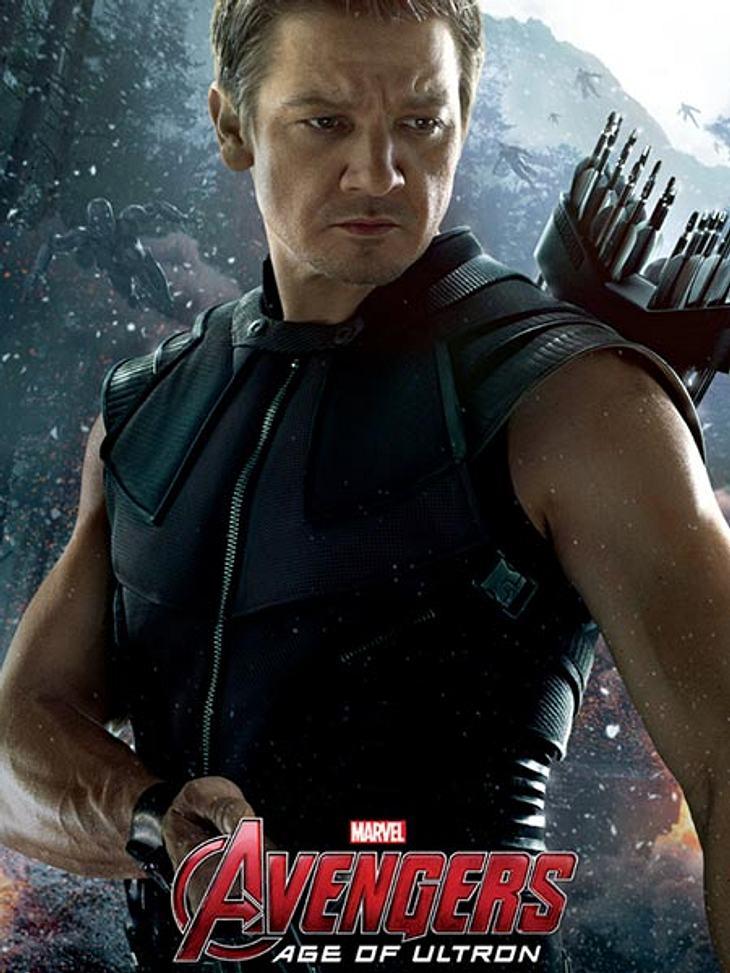 Jeremy Renner als Hawkeye 2015