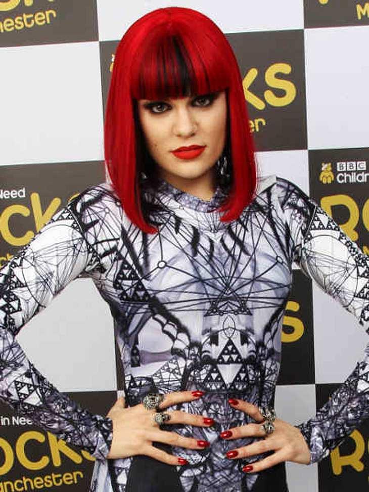 Trendstyle: Rote HaareDie Sängerin Jessie J