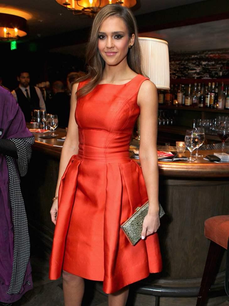 Jessica Alba quält sich für die perfekte Figur