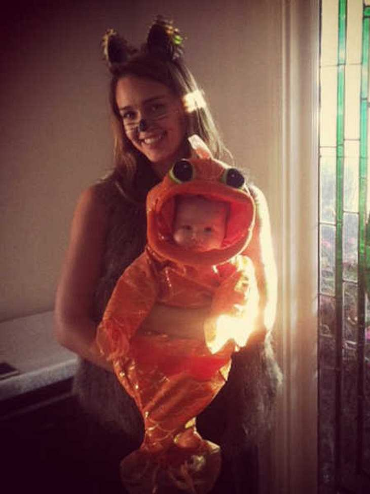 Jessica Alba mit Baby Haven